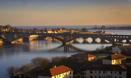 Berwick upon Tweed , England